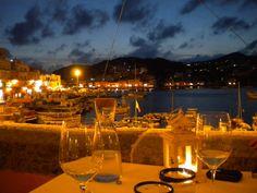 Island Vacation: an evening @ Ponza