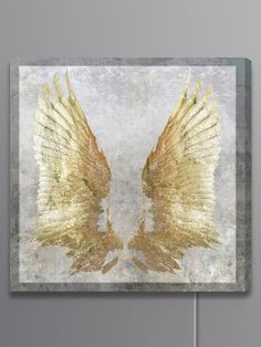 My Golden Wings Lightbox (Canvas) by Oliver Gal at Gilt