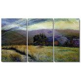 """Found it at Wayfair - """"Sonoma Meadow"""" Gallery Wrapped by Zhee Singer 3 Panel Painting Print on Canvas"""