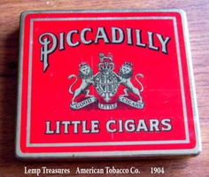 LEMP EST WM Lemp Jr Rare Antique Picadilly Good Little Cigars by LempTreasures, $99.99 OBO. All reasonable offers on any of our items for sale will be carefully considered. As always, we appreciate your business. Thank you. :)