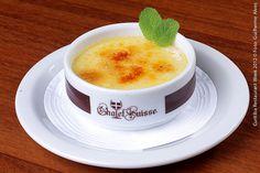 Chalet Suisse (jantar)    Crème Brûlée de Baunilha