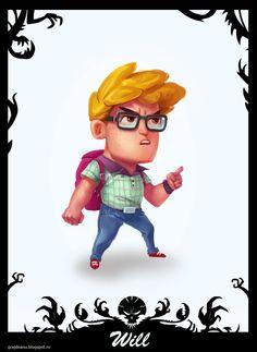 Monster Kids Adventure by Adi Grajdeanu