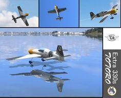Extra 330s Totoro (virtual RC plane scheme)