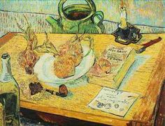 ◇ Artful Interiors ◇ paintings of beautiful rooms - Vincent Van Gogh