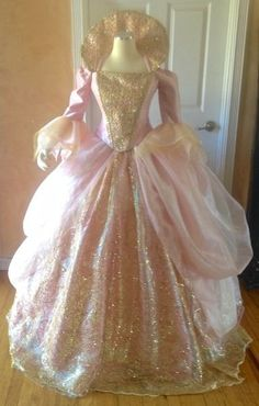 Fairy Godmother Fantasy Upscale Costume  This is our first version of the Fairy Godmother fantasy gown from the movie Cinderella.  We also have