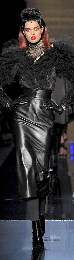 Jean Paul Gaultier Haute Couture Fall 2014 | The House of Beccaria~