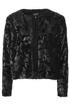 Velvet Sequin Jacket
