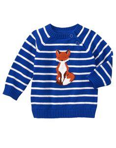 Gymboree Fox Sweater (12-18M)
