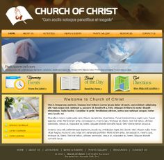 Church Website Layout/Template #churchwebsitedesign #customwebdesign #webdesign #website #avocadosoft #websitetemplate #websitelayout  #websitedesign #layout #template #churchwebsitedesign