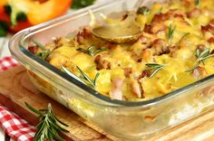 You'll Never Look at Baked Potatoes Quite the Same Way After Experiencing This Scrumptious Casserole! Take the edge off of autumn's chill with this rich and creamy baked potato casserole
