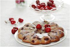 Gâteau aux cerises très très moelleux.....