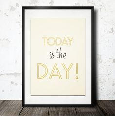 Typography Print Motivational Quote Inspirational by paperchat
