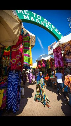 Serekundamarkt Gambia