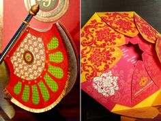 Different idea for wedding inviations for an asain wedding