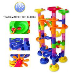 Cheap toy house, Buy Quality house kids toys directly from China toy story house Suppliers: 105pcs DIY Construction Marble Race Run Maze Balls Track Building BlocksSparkling Imagination of Your Kids - Marble Ra