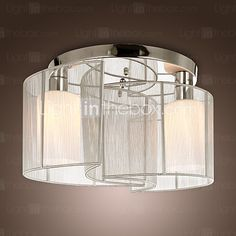 Ceiling Light Modern Design Bedroom 2 Lights - USD $49.99