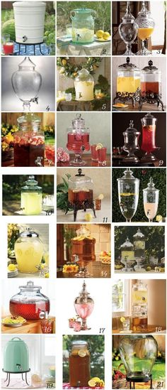 Drink Dispensers for Your Wedding