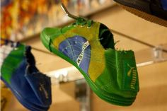 The PUMA World Cup Tekkies are a Lightweight Way to Show Soccer Spirit #worldcup2014 #worldcup trendhunter.com