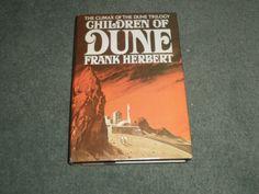 CHILDREN OF DUNE, Frank Herbert, 1976 HC/DJ BCE, Book Club Edition Book, GUC!
