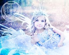Concept fairies – Winter Fairy #2 – Ice Fairy » Fairyography - Storybook Photographer