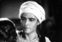 "pictures of rudolph valentino | The handsome grin of Rudolph in his last film, ""The Son of"
