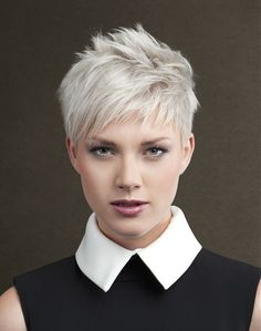 Sanke Short White Hairstyles