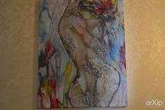 AMORE MIO: живопись, ар-деко, аллегория, батик #visualarts #artdeco #allegory #batik #batic