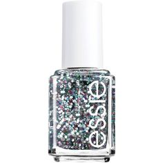 essie luxeffects nail color jazzy jubilant ($8.50) ❤ liked on Polyvore featuring beauty products, nail care, nail polish, nails, beauty, makeup, essie, jazzy jubi, glitter nail polish and essie nail polish