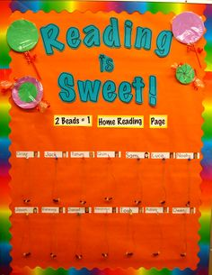 Ms. Liebel's Classroom: Reading is Sweet