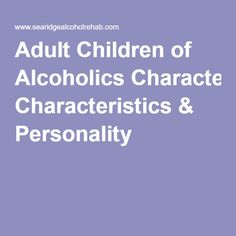 infidelity Adult alcoholic child of