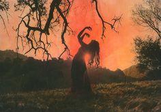 A poética feminina nas fotografias pintadas de Shae DeTar – BLCKDMNDS