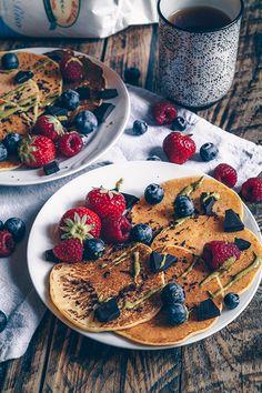 Pancake senza glutine vegan