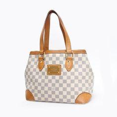 Louis Vuitton Hampstead PM  Damier Azur Shoulder bags White Canvas N51207