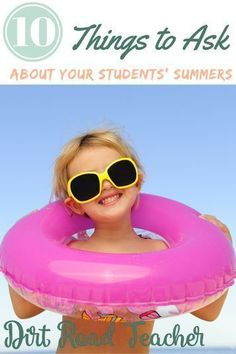 """I will be asking my students more important questions this year when they come back to school, instead of the traditional """"where did you go"""" activities. Not all students had a vacation, it's time to stop asking that question. #backtoschool #gettingtoknowyouactivities #icebreaker #firstyearteacher All About Me Activities, Back To School Activities, Summer Activities For Kids, Classroom Activities, School Ideas, Learning Activities, Classroom Ideas, Back To School Teacher, Meet The Teacher"""