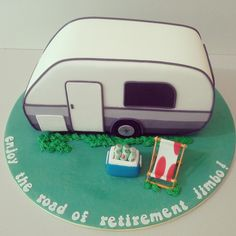 A Retirement Caravan Cake on Cake Central                                                                                                                                                                                 More