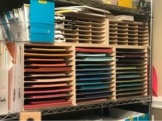 3 Monkeys throwing around some....PAPER!!!: Organizing: How I Store My Cardstock: UPDATED!
