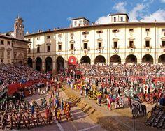 La Giostra del Saracino di Arezzo