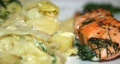 41 - Spitzkohlauflauf mit Lachs / Unmistakeable cabbage casserole with salmon - CloseUp