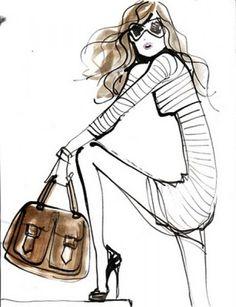 Fashion Illustrator – Izak Zenou