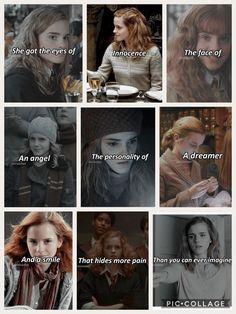 Harry Potter Hermione Granger, Mundo Harry Potter, Harry Potter Puns, Harry Potter Feels, Harry Potter Pictures, Harry Potter Characters, Harry Potter World, Draco, Golden Trio