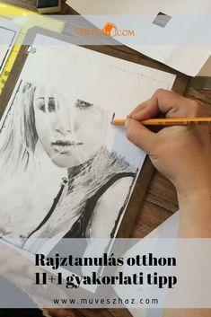Szeretnéd megtanulni hogyan kell rajzolni embert?  Iratkozz fel ingyenes online rajz tanfolyamunkra! Polaroid Film, Drawing, Sketches, Drawings, Draw