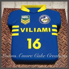 Cake Decorating Penrith : Roosters Jersey Cake My Cakes Pinterest Jersey ...