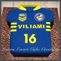 Parramatta jersey cake