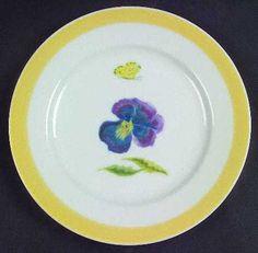 Williams-Sonoma Summer Studies salad plate