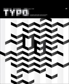 """Typo Magazine: """"a quarterly magazine from the Czech Republic devoted to typography, graphic design and visual communication published since 2003. It is aimed at professionals as well as beginning typographers, type and graphic designers, educators and marketing and visual communication specialists."""""""
