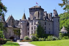 Château de Pesteils ~ Auvergne ~ France Limousin, French Fancies, Old Mansions, Mansions Homes, Interior Design History, Chateau Medieval, French Castles, Grand Homes, French Chateau