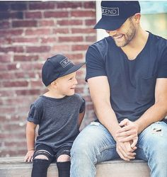 Father and Son Hats Legend and Legacy Hats Gifts by tolittlearrows