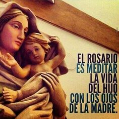 Meditar el Rosario.