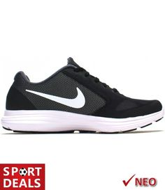 NIKE REVOLUTION 3 ΠΑΙΔΙΚΟ ΑΘΛΗΤΙΚΟ ΠΑΠΟΥΤΣΙ ΜΑΥΡΟ Nike Free, Sneakers Nike, Shoes, Fashion, Nike Tennis Shoes, Moda, Zapatos, Shoes Outlet, Fashion Styles