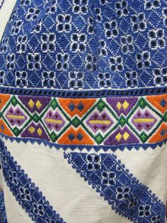 Ukraine, from Iryna Ukraine, Types Of Stitches, Folk Costume, Embroidered Blouse, Couture, Cross Stitch, Diy Crafts, Embroidery, Quilts